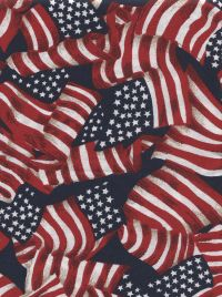 Made in USA Patriotic Fabrics
