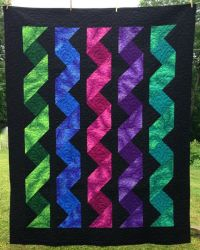 Cascading Ribbons - Pattern