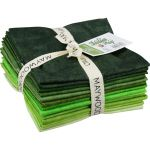 Maywood Studios Shadowplay Fat Quarter Bundle - Greens